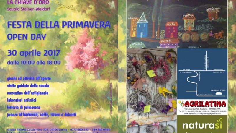 Festa della Primavera 2017 e Open-Day