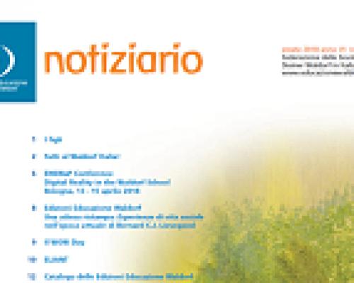 Notiziario n. 24 estate 2018 Federazione Scuole Waldorf