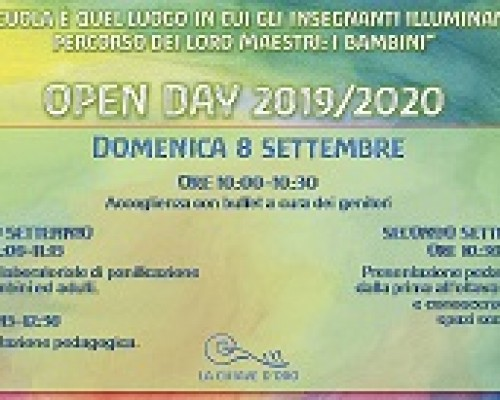 OPEN DAY 2019/2020