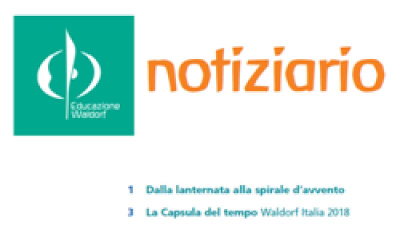 Notiziario n. 25 Federazione Scuole Waldorf