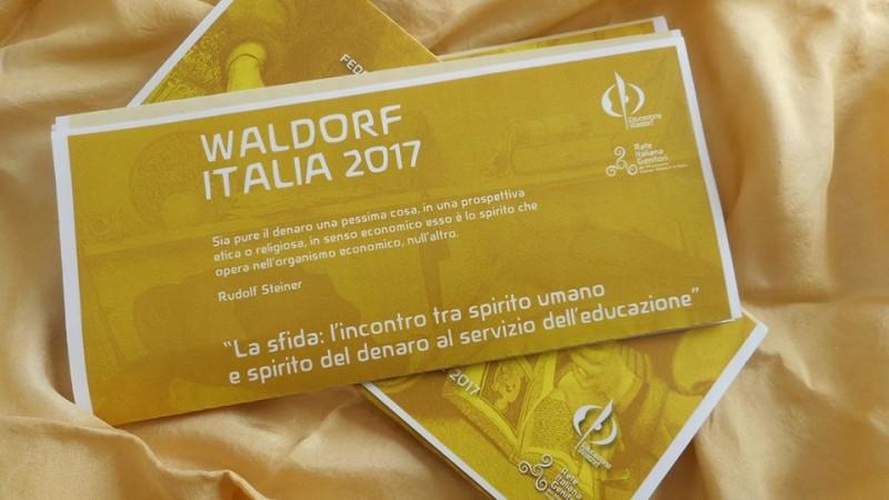 WALDORF ITALIA XV edizione,  Pesaro 31 marzo - 2 aprile 2017